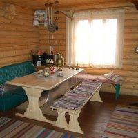 Русская баня под Киевом фото комнаты отдыха