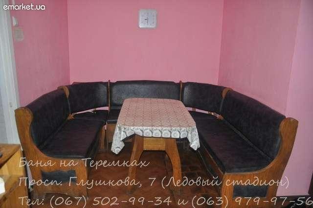 Сауна на Теремках фото зоны отдыха