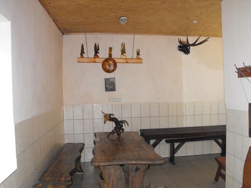 Русская баня на дровах в селе Вильное зоны отдыха