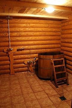 Бабушкин Сад фото комнаты с купелью