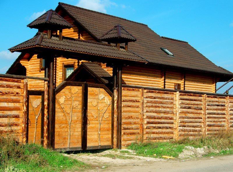 Банька в с. Ходосеевка под Киевом