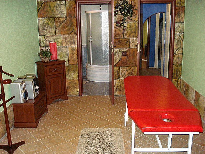 Сауна Glamur фото массажной комнаты