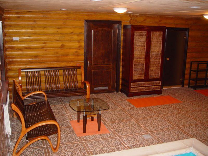Русская баня Каскад фото комнаты отдыха