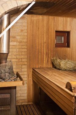 Славянская баня в Вышгороде фото парной