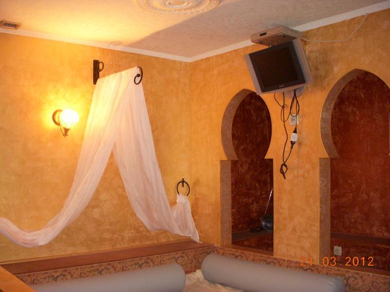 сауна Новый Свет фото комнаты отдыха в восточном стиле