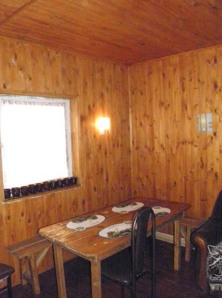 Баня-сауна У Сереги фото зоны отдыха