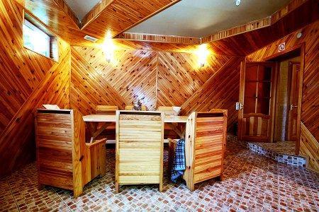 Баня на дровах фото зоны отдыха