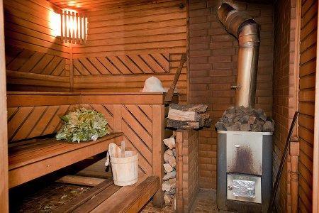 Баня на дровах фото парилки