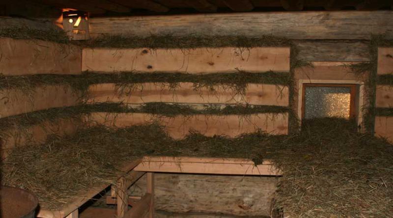 Сибирская баня в Старом пруду фото сеновала
