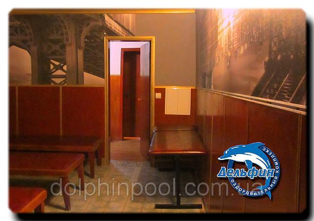 Сауна бассейна Дельфин фото интерьера