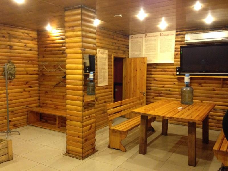 Русская баня на дровах фото