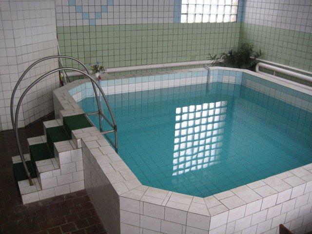 Сауна Купидон на Радищева фото бассейна