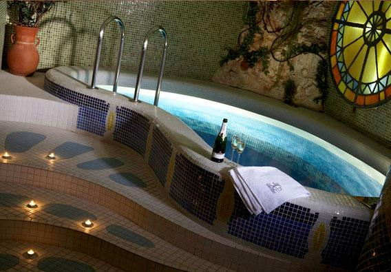 VIP-Сауна Санторини бассейн
