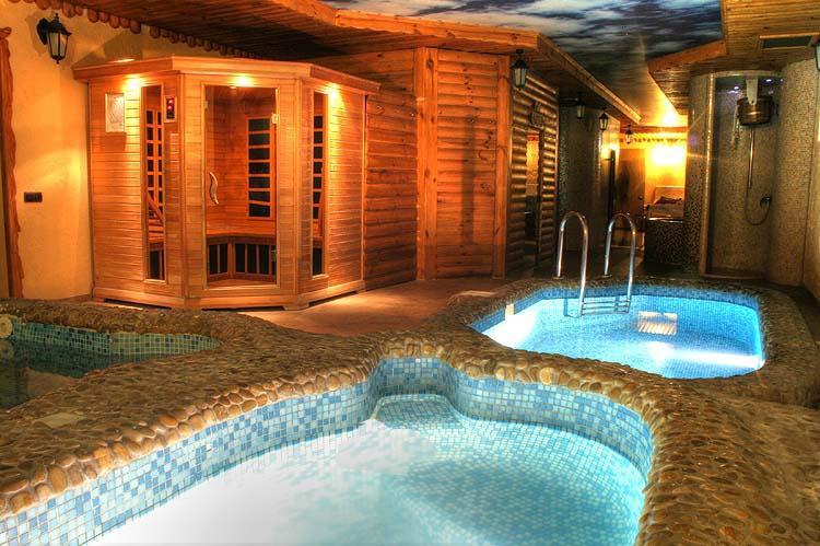 Spa-центр Мисливський Двip фото бассейну та сауни