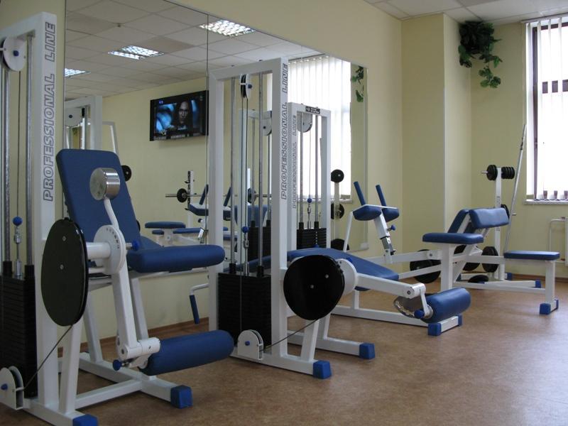 Сауна СКОРПИОН фото тренажёрного зала
