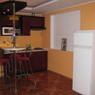 Сауна на Богатырской фото мини-кухни