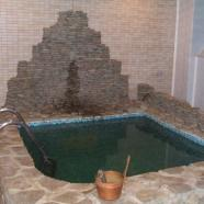Банька фото бассейна