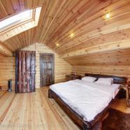 Русская баня в доме на воде фото террассы