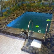 Банный Двор в Погребах фото бассейна