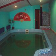Русская баня Семейная фото бассейна