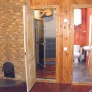 Баня в селе Демидов фото душевой и ванной комнаты