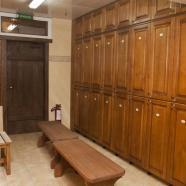 Общественная баня фото раздевалки