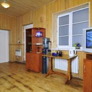 Сауна Труханов фото комнаты отдыха